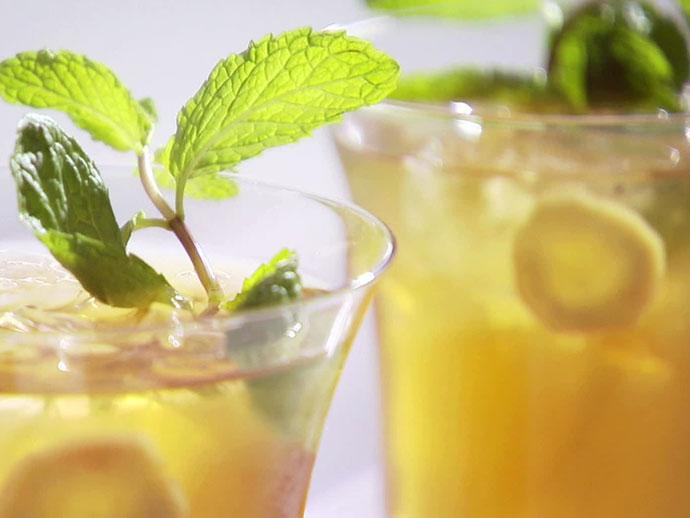 Имбирный чай со льдом 1