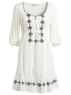 Платье с вышивкой, Ellos