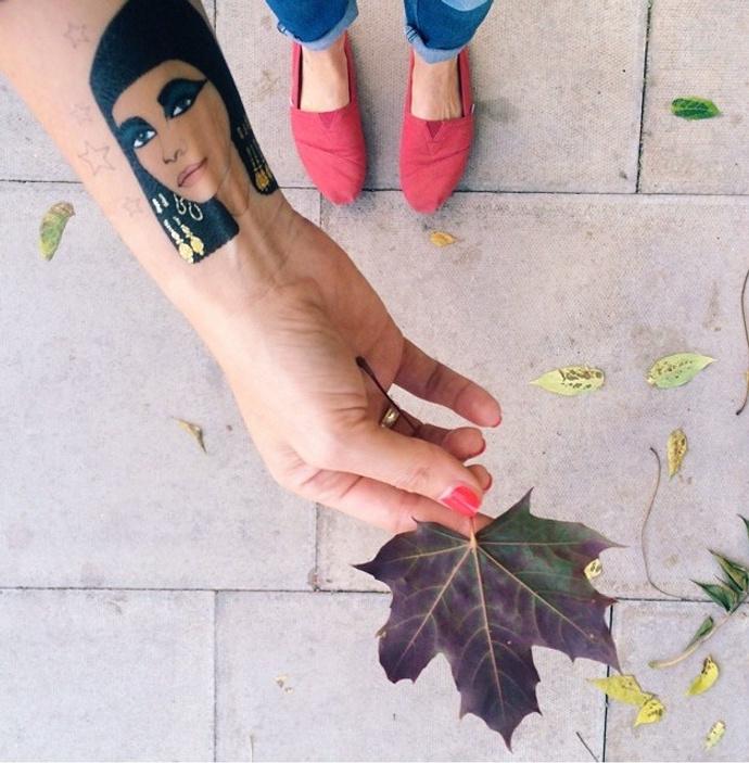 Rosie Wonders переводные временные татуировки