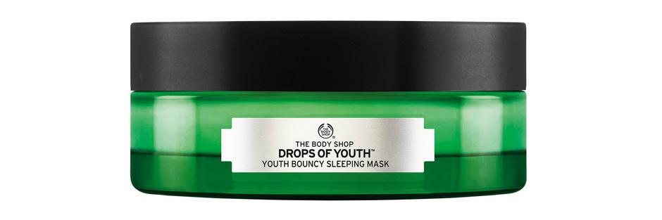 Ночная восстанавливающая маска Drops of Youth от The Body Shop