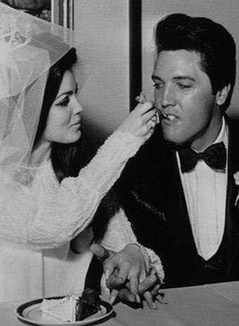 Элвис Пресли и Присцилла Боле свадьба