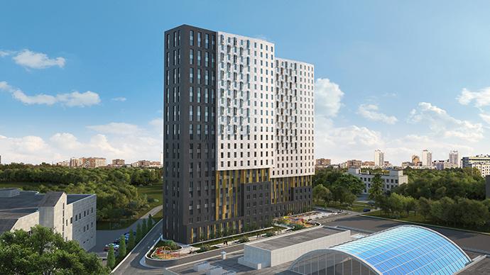 Проект жилого комплекса «Невский» (1, 2 корпус)