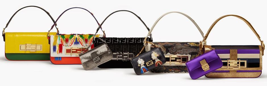 сумка 3Baguette от Fendi