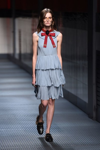 Показ Gucci на Неделе моды в Милане | галерея [1] фото [24]
