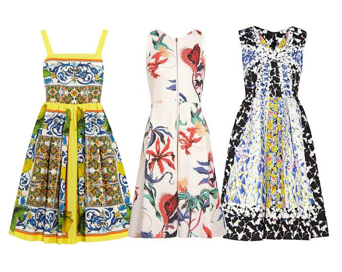 Выбор ELLE: Dolce&Gabbana, Schumacher, Peter Pilotto летние вечерние платья фото