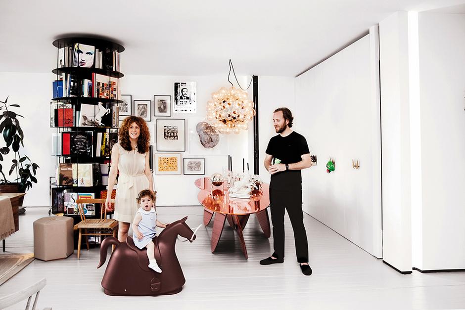 Сефер и Мера Чаглар и их дочь Сера