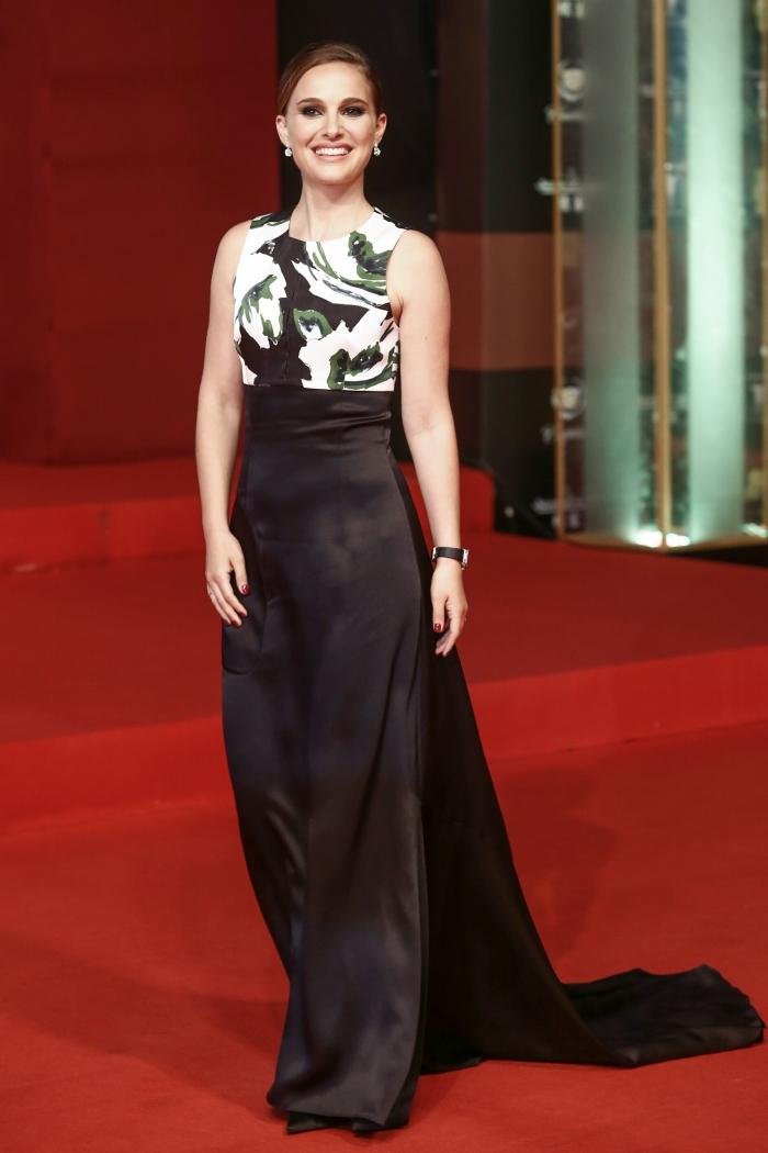 Стиль Натали Портман: платье от Christian Dior