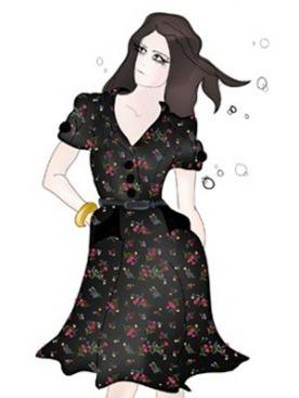 Эскизы дебютной коллекции одежды Лили Аллен