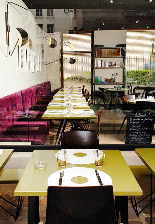 Ресторан CRU В Париже