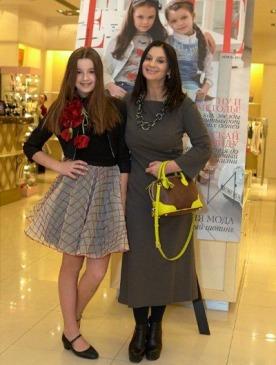 Екатерина Стриженова с дочерью Александрой