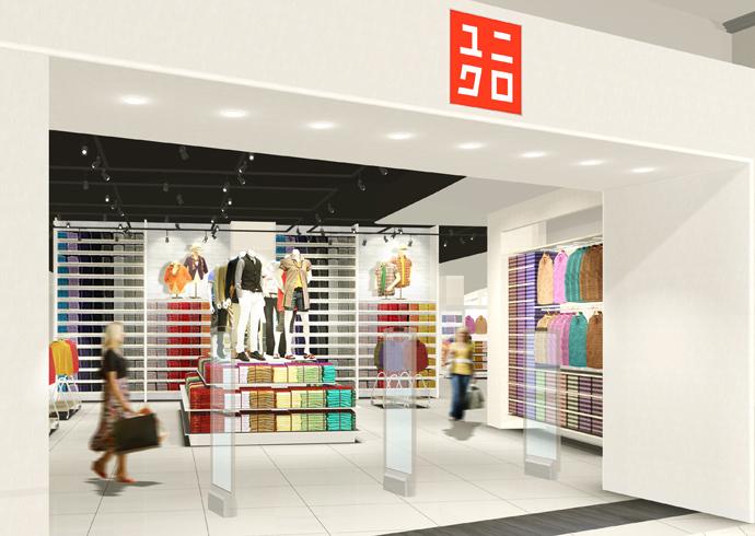 Uniqlo объявляет об открытии первого магазина в Санкт-Петербурге