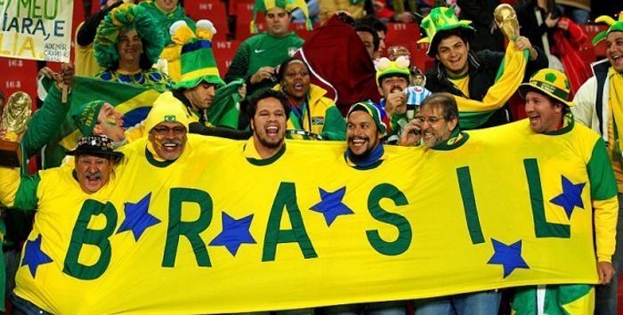 футбол в Бразилии, бразильские болельщики