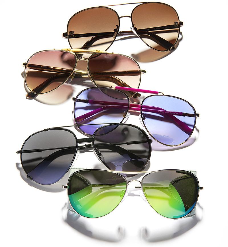 модные солнцезащитные очки 2014 авиаторы