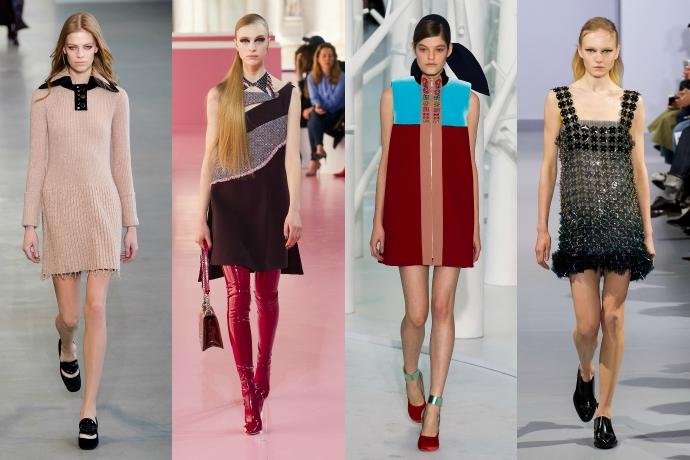 Calvin Klein, Dior, Delpozo, Paco Rabanne