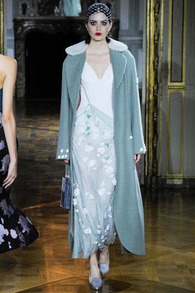 Показ Ulyana Sergeenko на Неделе высокой моды | галерея [1] фото [7]
