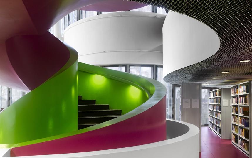 Библиотека Коттбус, Германия