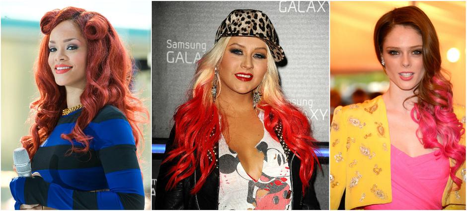 Знаменитости с красными волосами