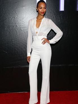 Звездный выбор: белые наряды
