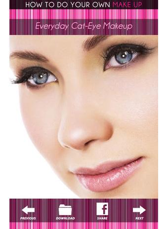 Приложение «Как сделать макияж» фото 2