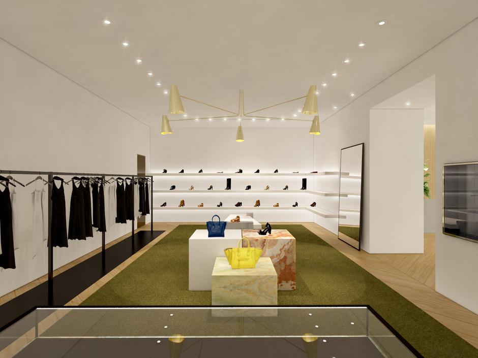 В Третьяковском проезде открылся новый бутик Céline