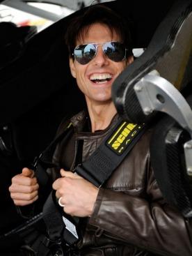 Том Круз на съемках фильма