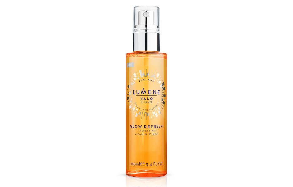 Увлажняющая освежающая дымка для лица с витамином С Valo Glow Refresh от Lumene
