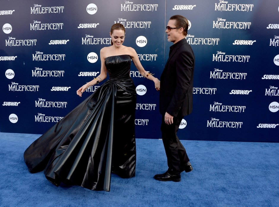 Анджелина Джоли и Брэд Питт: фото 2014