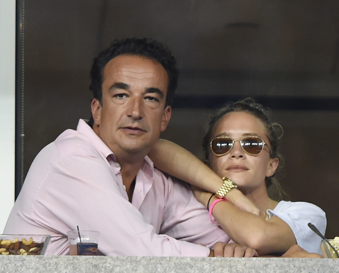 Мэри-Кейт Олсен и Оливье Саркози фото 2015