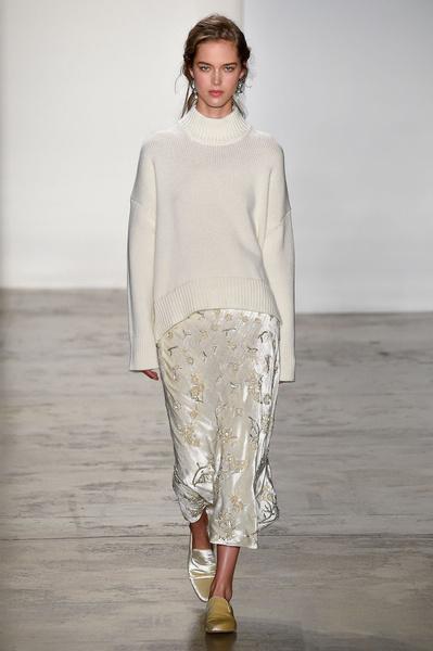 Самые красивые образы Недели моды в Нью-Йорке | галерея [1] фото [63]