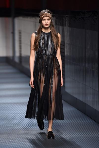 Показ Gucci на Неделе моды в Милане | галерея [1] фото [16]