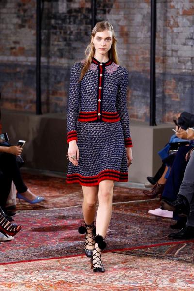 Дом Gucci представил новую круизную коллекцию 2016 | галерея [2] фото [43]