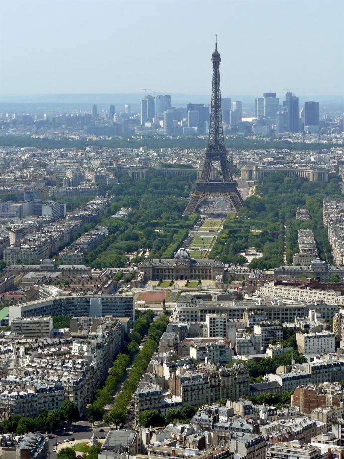 Башня Монпарнас, Париж, Франция