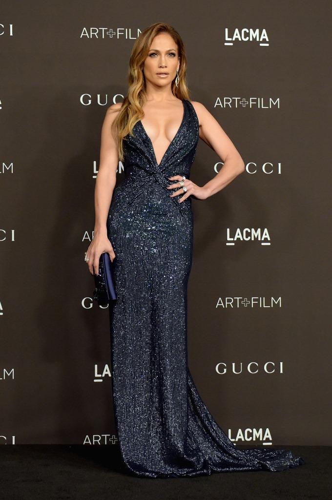 Дженнифер Лопес в Gucci Première