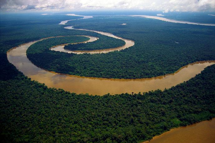 Амазонка, Южная Америка
