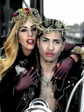 Кадр из клипа Леди Гаги Judas