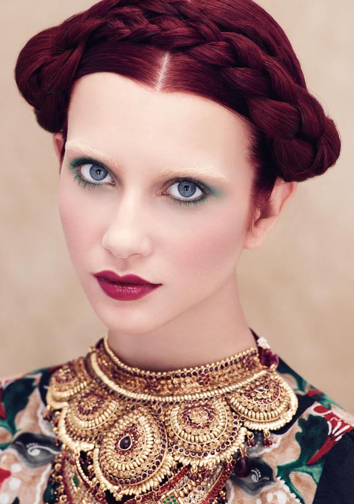 Органическая марка Aveda выпустила лимитированную коллекцию макияжа Сulture Сlash