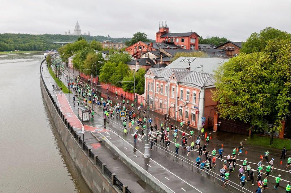Московский полумарафон соберет более 8 000 человек