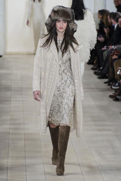 Показ Ralph Lauren на Неделе моды в Нью-Йорке | галерея [1] фото [19]