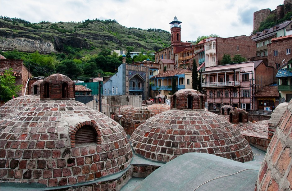 3. Тбилисские серные бани