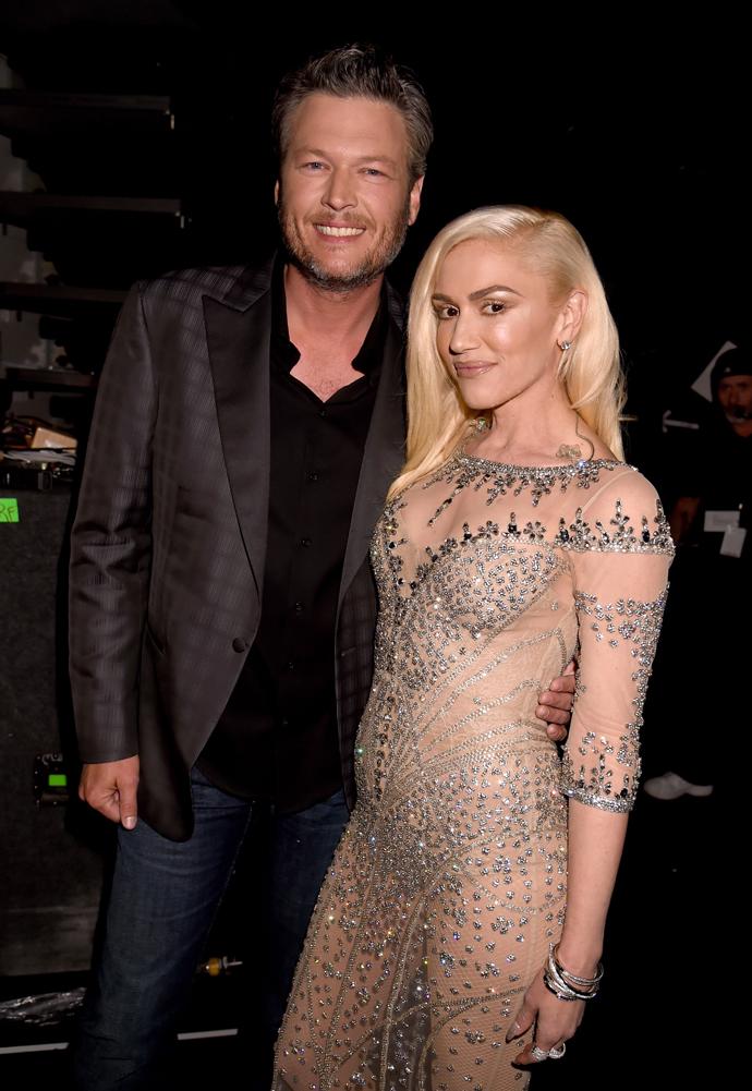 Гвен Стефани и Блейк Шелтон на Billboard Music Awards