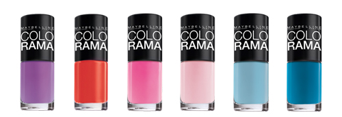 Лаки для ногтей Colorama by Maybelline New York
