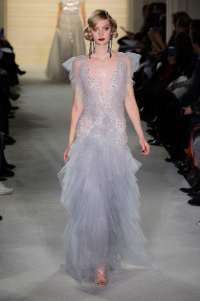 Показ Marchesa на Неделе моды в Нью-Йорке | галерея [1] фото [11]