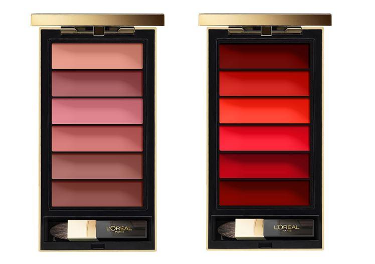 Шесть в одной: новые палитры для губ L'Oréal Paris