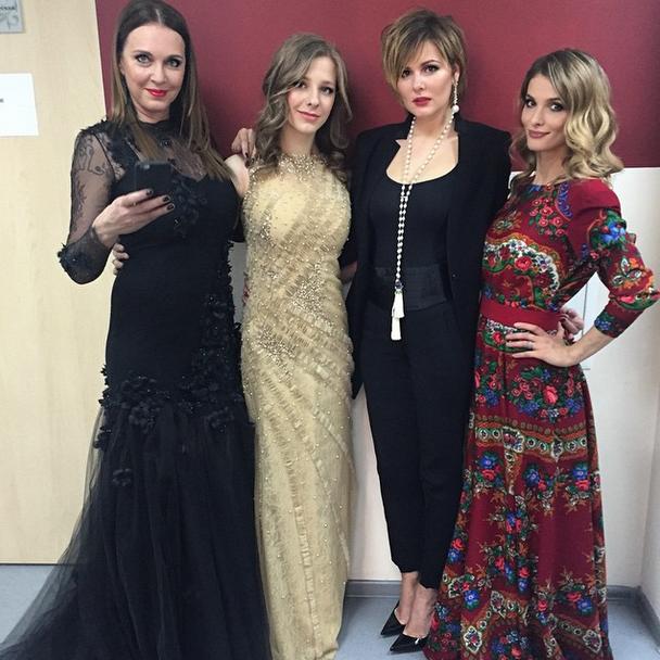 Татьяна Лютаева, Елизавета Арзамасова, Мария Кожевникова и Светлана Иванова