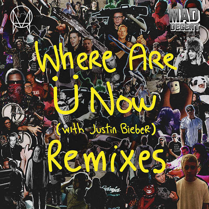 Where are U now — Jack U, Justin Bieber, Diplo