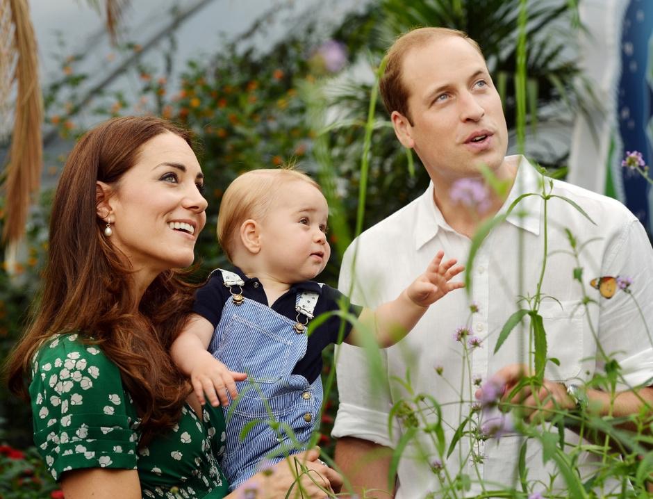 Герцогиня Кэтрин с сыном