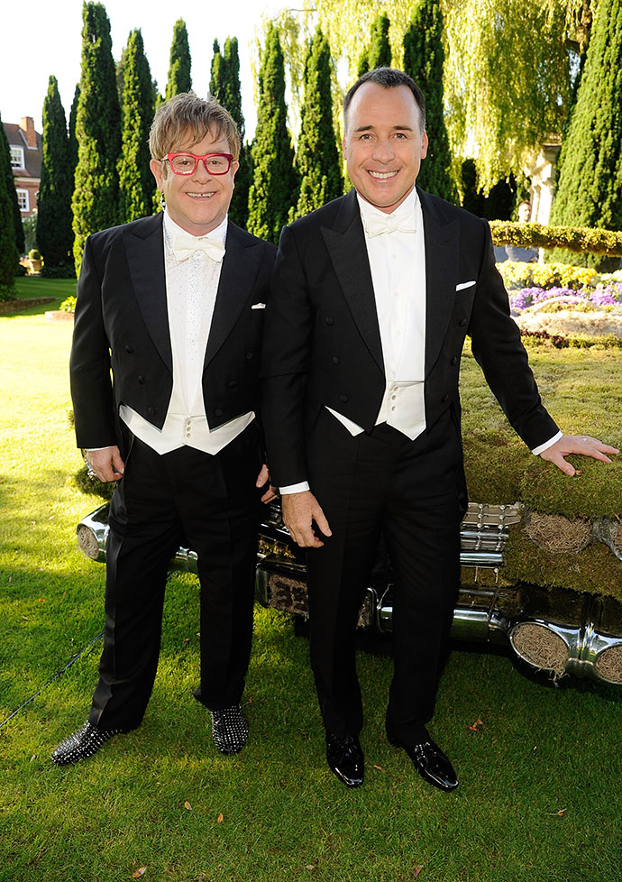 Свадьба Элтона Джона и Дэвида Ферниша состоялась в 2014 году