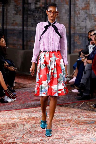Дом Gucci представил новую круизную коллекцию 2016 | галерея [2] фото [8]
