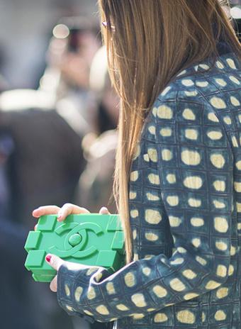 Клатч Chanel Lego