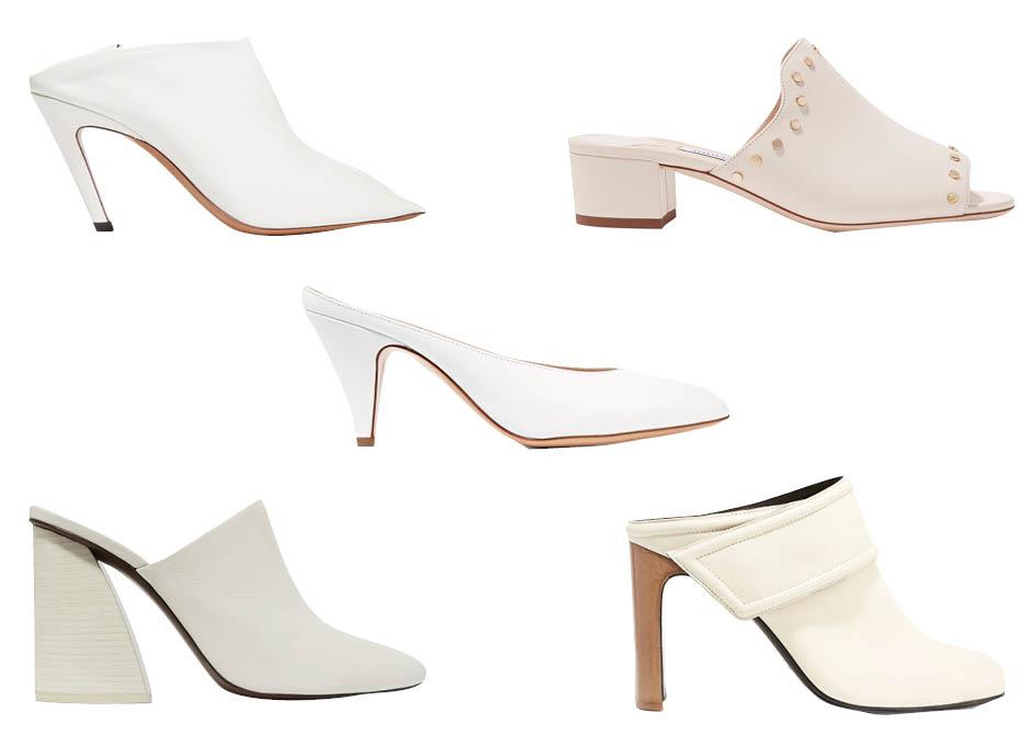 Белая обувь фото